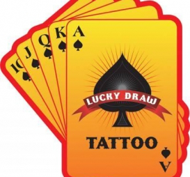 Lucky Draw Tattoo